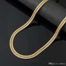 trendy gold chain necklace images 2018 6mm long gold chain for men chain necklace new trendy 18k jpg