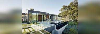 a home of glass and concrete with canyon views beverly hills ca