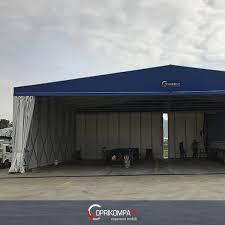 capannoni mobili coperture mobili frontali in pvc industriali e agricoli coprikompatt