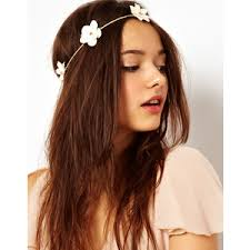 flower hair band dh charries polyvore