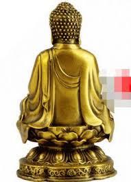 dyz copper buddha vairocana buddha ornaments bronze statue