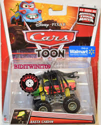 walmart monster jam trucks disney pixar cars toon walmart exclusive rasta carian 0001435