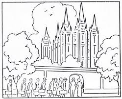 mormon history coloring book august temple building 543872