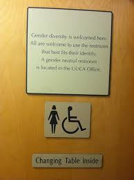 Signage For Comfort Rooms Gender Neutral Bathrooms Uua Org