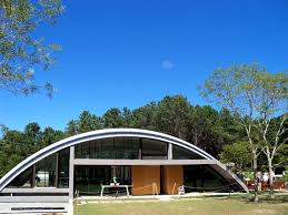 architecture interesting quonset hut homes with glass front door