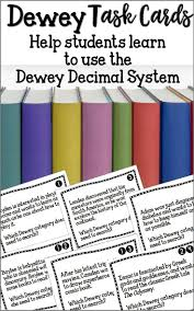 98 best dewey decimal images on pinterest library lesson plans