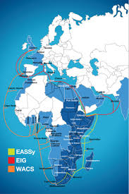 Undersea Cable Map 46 Best African Network Maps Images On Pinterest Infographics