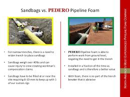 Banister Pipeline Construction Pedero Pipe Support Presentation
