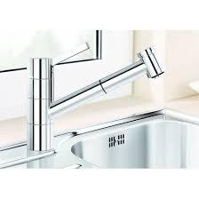 robinet cuisine escamotable sous fenetre robinetterie d évier sous fenêtre blanco tivo s f blanco