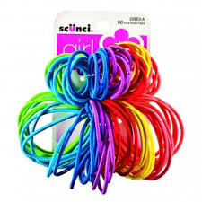 ponytail holders scunci girl no damage ponytail holders 80 pieces rite aid