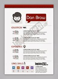 Infographic Resume Template Free Download Contoh Cv Format Word Free Download Template Cv Kreatif 30 Desain