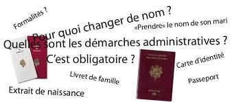 demande de carte de sejour apres mariage changement de nom après mariage mariage franco marocain