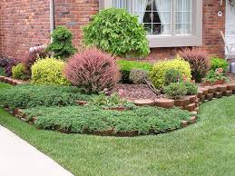 Landscaping Front Of House by Landscape Garden And Patio Simple Diy Front Yard Landscaping