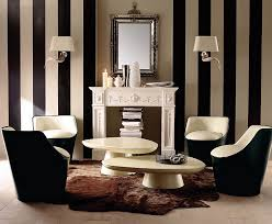 Black And White Living Rooms Design Ideas - Black and white family room