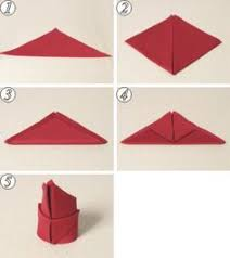 how to make table napkins one minute guide to napkin folding diy boston table how make designs