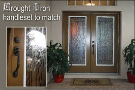 Glass Insert Doors Interior Wyngate Wrought Iron With A Classic Twist The Glass Door Store