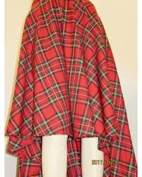 deals on high low waist plaid skirt royal stewart circle skirt