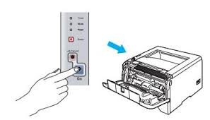 brother printer drum light 1 800 610 6962 how to fix brother printer hl 2270w drum light error