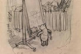 winnie the pooh sketches with tasmanian link dusted off after