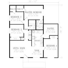 one house plans with 4 bedrooms 4 bedroom house blueprints one 4 bedroom house plans