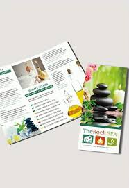 product brochure template free spa free psd tri fold psd brochure template by elegantflyer