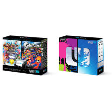 wii u prices on black friday nintendo wii u splatoon and super smash bros console deluxe set