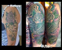 and dove feminine cover up by steve malley tattoonow