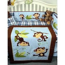 Soho Crib Bedding Set Soho Designs Soho Playful Monkey Baby Crib Nursery Bedding Set 14 Pcs