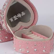 personalized girl jewelry box silver personalized jewelry box promotion shop for promotional