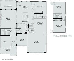 Barrington Floor Plan by Hawthorne At Barrington New Homes In Brentwood Ca Tri Pointe