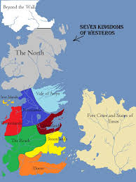 Map Of Essos Seven Kingdoms Of Westeros By Joshmoe93 On Deviantart