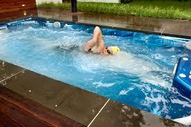 swim spa backyard designs archives dictor