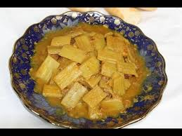 cuisiner des cardons tagine marocain de boeuf aux cardons beef cardoon tagine طاجين