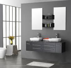 custom bathroom vanity designs rectangle frame glass wall mirror drawers shiny white marble