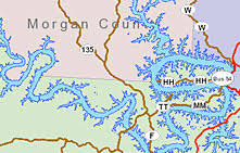 cove lake of the ozarks map lake maps lake of the ozarks bassing fishing
