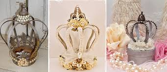 crown centerpieces embellished crowns for a royal affair