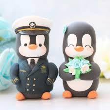 army cake toppers personalised us army penguin wedding cake toppers