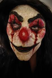 Creepy Clown Halloween Costumes 25 Evil Clown Mask Ideas Scary Clowns Evil