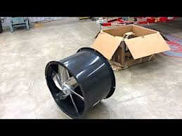spray booth extractor fan homemade spray paint booth part 2 24 tubeaxial fan preview youtube