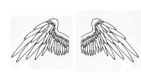 angel wing tattoo designs small angel wings by sonic7 on deviantart