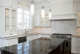 Black Subway Tile Kitchen Backsplash Kitchen Elegant Kitchen Backsplash White Cabinets Dark Floors