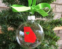 clear glass ornament etsy