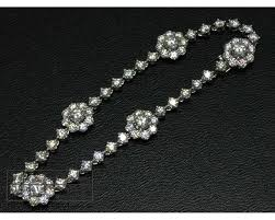 diamond flower bracelet images Hearts on fire platinum diamond garden flower bracelet 5 88ct jpg
