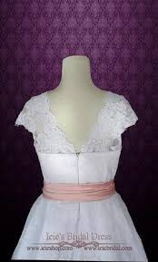 50 S Wedding Dresses Other Retro 50s Tea Length Wedding Dress With Sleeves 260 Size