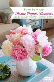 tissue paper flowers printable instructions how to make tissue paper flowers atta girl says