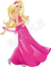 barbie shirt iron transfer decal 5