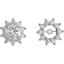 earring jackets for studs diamond earring jackets a up of the best ones gem hunt