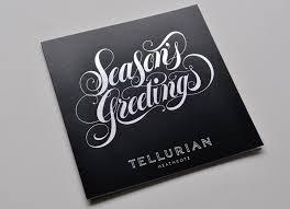 tellurian season s greetings luke lucas typographer