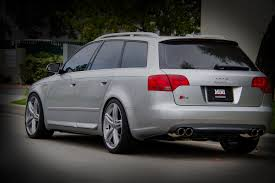 audi s4 review 2006 2006 audi b7 s4 avant lowered with h r springs stasis exhaust