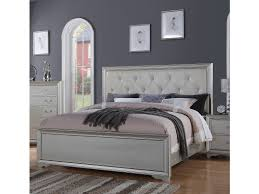 Hollywood Bedroom Set by Hollywood Collection Silver 6 Pc Queen Bedroom Set Queen Bedroom